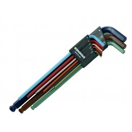 Sada klíčů imbus-9dílů LWR XL color