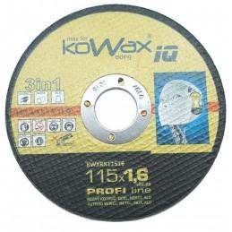 Řezný kotouč 115x1,6   inox AWELD