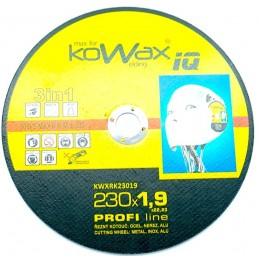 Řezný kotouč 230x1,9  inox AWELD