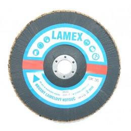 Lamelový kotouč 180 SK36   nerez  šikmý