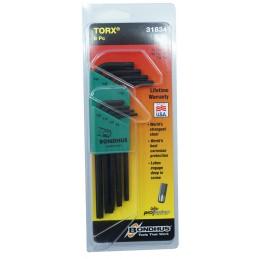 Sada klíčů Torx  T9-T40   TLX8