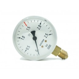 Manometr C2H2 výst.0-2,5 atm.    ST