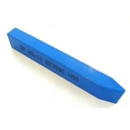 Soustružnické nože z rychlořezných ocelí na klínové drážky řemenic, 223590, 40x25x200 mm