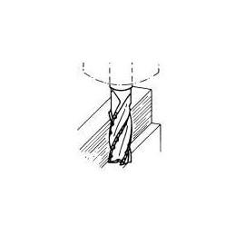 Fréza válcová, čelní, krátká, polohrubozubá, F422940, 25x50 mm