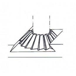 Fréza úhlová jednostranná, F853570, 75x80 mm
