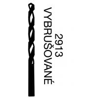 Vrtáky s válcovou stopkou - střední řada HSS, 2913,vybrušované