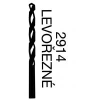 Vrtáky s válcovou stopkou, levořezný - střední řada HSS 2914