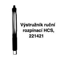Výstružník ruční rozpínací, HCS 221421