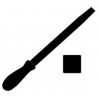 Pilníky čtyřhranné
