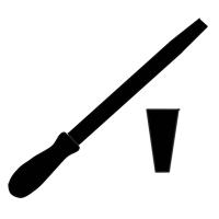 Pilníky nožové