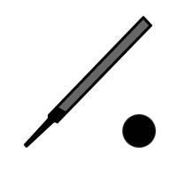Pilník precizní-kulatý